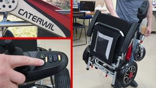 Обзор легкой инвалидной коляски для прогулок и путешествий
