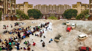Fury of Nature hit India !! Devastating landslides and floods in Mumbai !