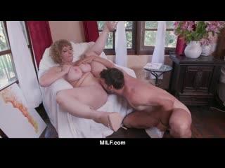 MILF - Nympho Milf Sara Jay Fucks A Young Nude Model