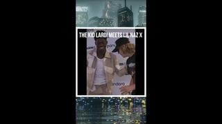 THE KID LAROI meets LiL NAZ X #shorts