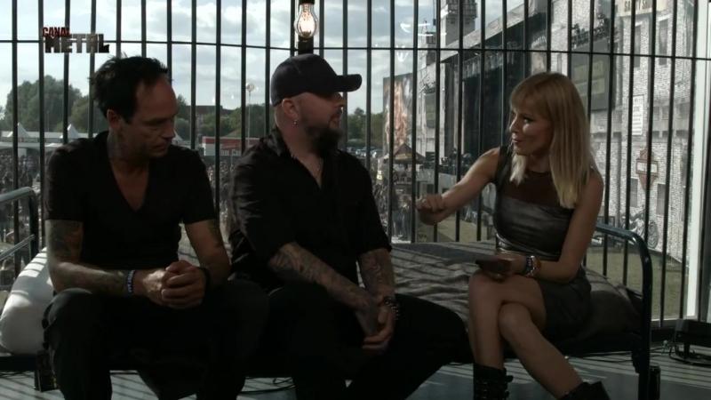 Interview Alcatraz Metal Festival Kortrijk Belgium 11 08 2018