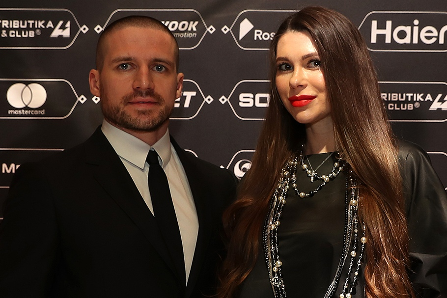 Яков Рылов с женой