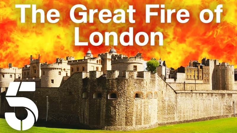 How Did The Great Fire of London End The Great Fire London Burns Channel 5 History