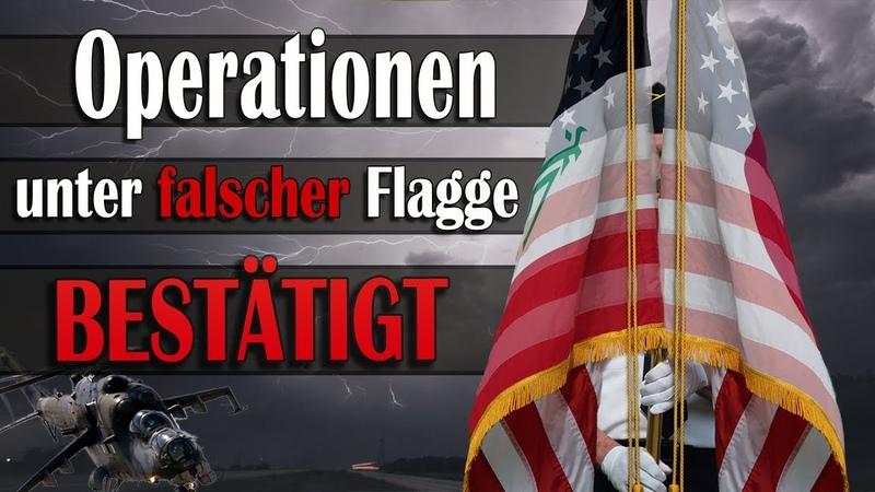 Operationen unter falscher Flagge bestätigt! | 29.12.2018 | www.kla.tv/13599