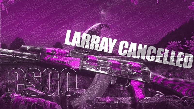 Larray Cancelled CSGO