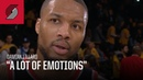 Damian Lillard: It's hard to come out of this proud   Trail Blazers at Lakers