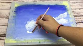 Как нарисовать облака/Супер способ рисования
