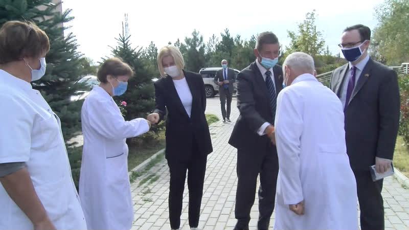 LIVE Посольство Великобритании передает Гагаузии партию средств защиты