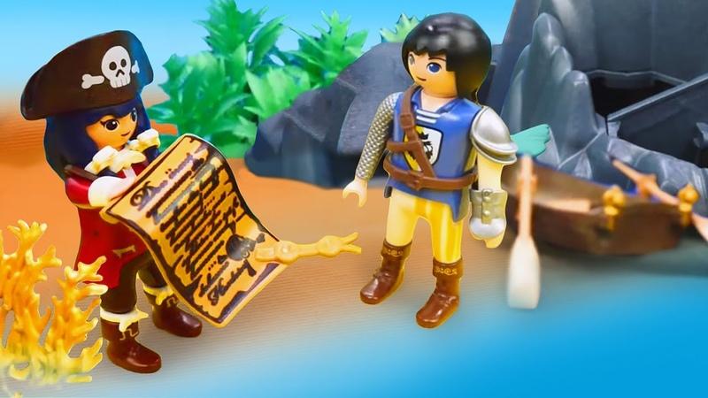 Super 4 oyuncakları korsan gemisi ile deniz altında hazine sandığını buluyorlar Çocuk videosu