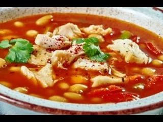 КУРИНЫЙ СУП С ФАСОЛЬЮ! Мой самый любимый суп!!