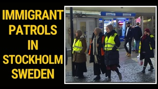 Immigrant patrol in Sweden due to immigrant youth crime