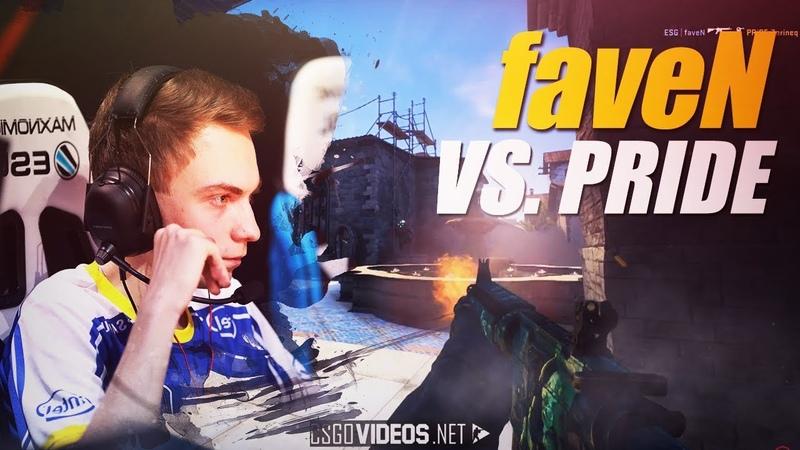 FaveN vs PRIDE 4K at ESEA MDL Season 28 Europe CS GO