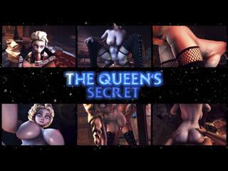 The queens secret (Elsa Frozen sex)