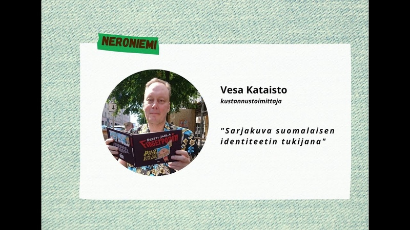 Vesa Kataisto Sarjakuva suomalaisen identiteetin tukijana