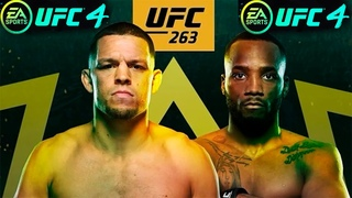 Леон Эдвардс против Нейт Диас бой в UFC 263
