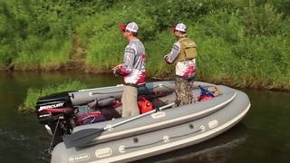 Река Унжа и ловля голавля