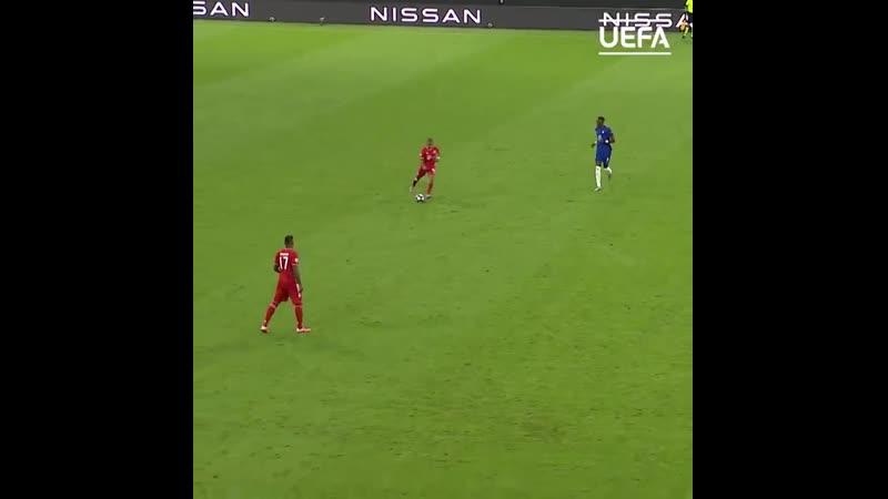 Тьяго Алькантара в ответном матче 1 8 финала Лиги чемпионов 2019 20 против Челси