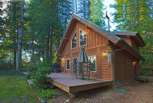 Дом в лесу) Подборка удачных идей