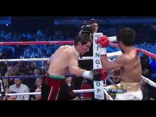 Мастерство Мэнни Пакьяо против соперника, который значительно превосходит его в габаритах