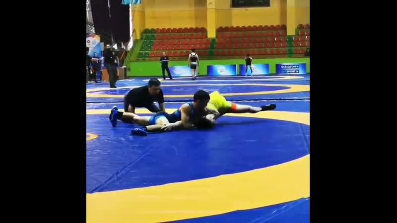 Санаев уступил в первом круге чемпионата Казахстана Мухтару Сейтову