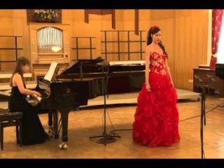 В. Моцарт, 2-я ария Царицы Ночи из оперы «Волшебная флейта» Гафиятуллина Нэля (сопрано)