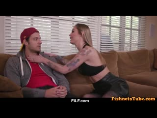 Horny and Hot Stepmom Kleio Valentien Teaches Her Stepson How To Fuck A Woman hardcore to not give up him again