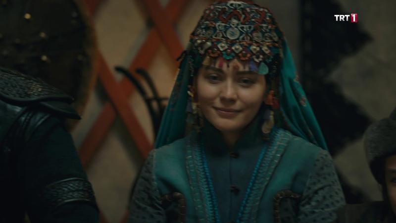 Diriliş Ertuğrul 122 bölüm Ozandan türkü Allah Türk'e yar olsun