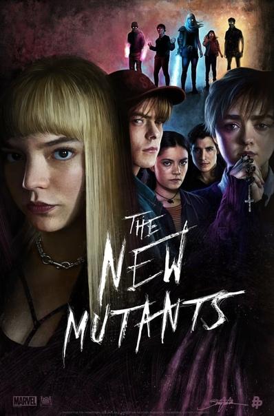 Арт-постеры «Новых мутантов»