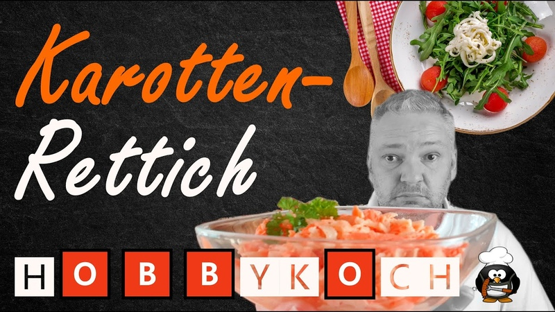 Rettich Karotten Salat Coleslaw 🅷🅾🅱🅱🆈🅺🅾🅲🅷 Rezept Rettichsalat mit Karotten