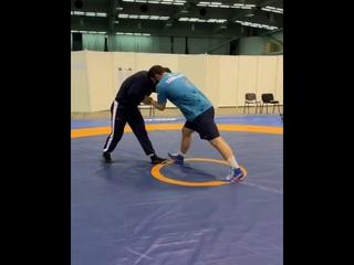 Абдулрашид Садулаев на Кубке мира-2020 в Сербии