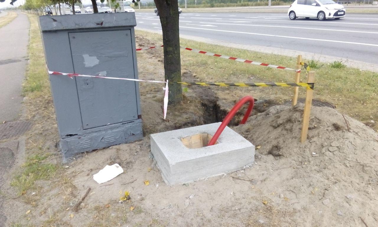 В Бресте внедряют интеллектуальную транспортную систему с датчиками на дороге