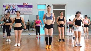 Easy Exercise To Lose Belly Fat At Home For Beginners - 35 Mins Aerobic Workout | EMMA Fitness
