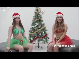 Roma Amor & Camila Palmer (CHRISTMAS BUKAKE! (BUKAKE NAVIDEÑO) (BUK 239) [2020, Facial, Blowjob, Gokkun, Cum in Mouth, 720p]