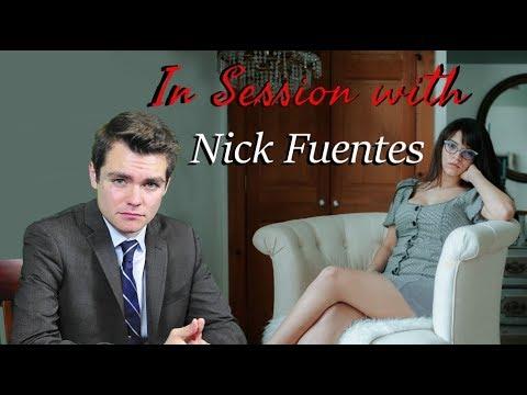 Nick Fuentes talks to Brittany Venti 🤡
