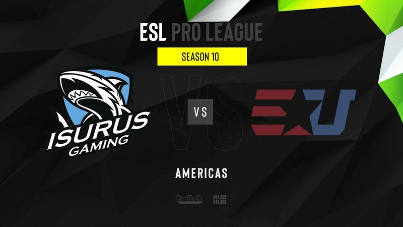 Isurus vs eUnited ESL Pro League S10 NA map2 de nuke MintGod