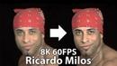 Рикардо Милос флексит в 8K 60FPS