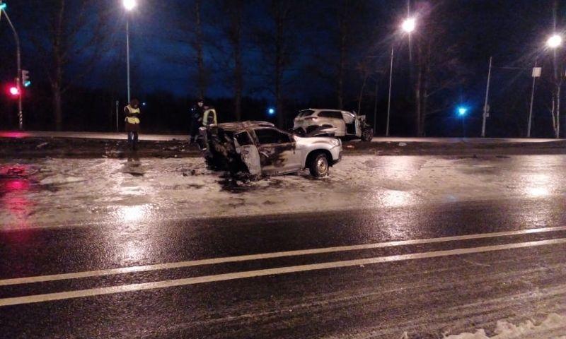 В ДТП на Московском проспекте погибли два человека