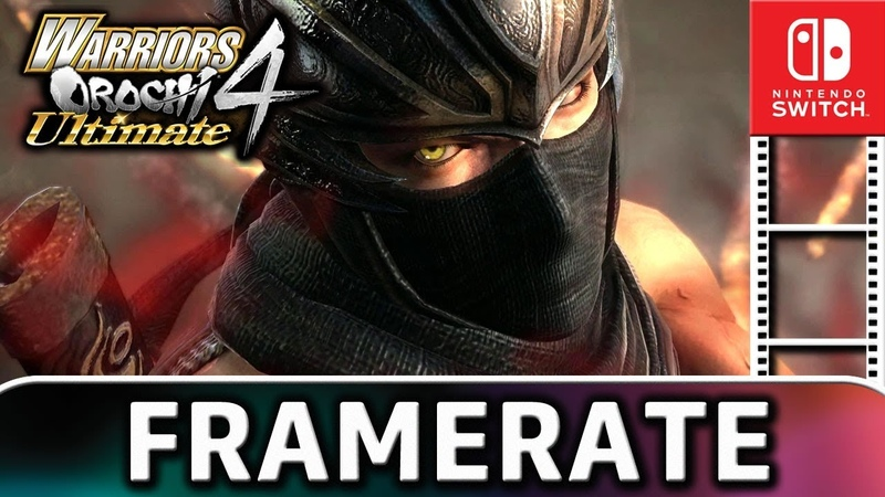 Warriors Orochi 4 Ultimate Docked VS Handheld Frame Rate TEST on Switch