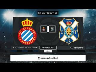 RCD Espanyol - CD Tenerife MD41 D1815