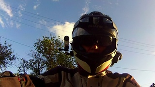 CB500X ADV - Sony FDR X3000 Action Cam First Ride