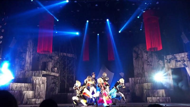 2 5次元ダンスライブ「ツキウタ。」ステージ 第10幕『月歌奇譚 太極伝奇』ゲネプロレポート ライブパート