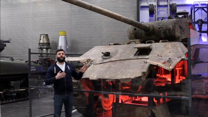 Немецкие танки Пантеры. Последний бой Кёльнской пантеры и что осталось от Черкасской. [Германия]